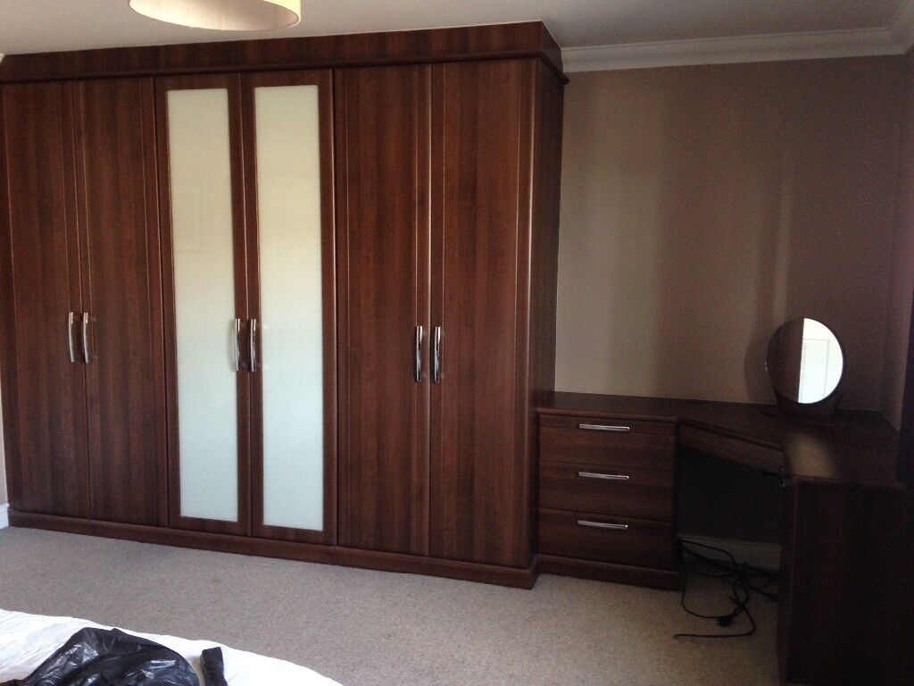 Hammonds Bedroom Furniture - wardrobes, bedside cabinet, dressing table, chest of drawers