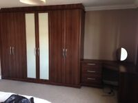 Hammonds Bedroom Furniture - wardrobes, bedside cabinet, dressing table, chest of drawers