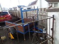 CAR TRAILER 5ft 5ins x 3ft 5ins EXCELLENT CONDITION £260 O.N.O.