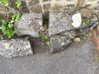 Rubble + stone free to collector