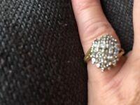 14ct diamond ring over 1ct