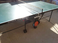 Butterfly Outdoor Table Tennis Table in very good condition