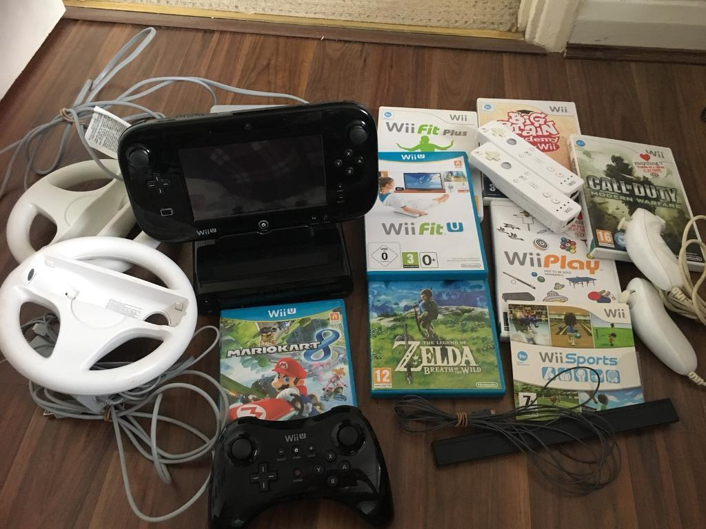 Wii u premium 32gb bundle