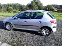Peugeot 206 LX - 2002 - 125K - Great condition, tight & reliable. Long MOT.