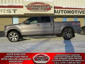 2013 Ford F-150 Shadow Gray FX4 Ecoboost, Luxury pkg, Leather,Su