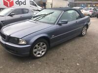 BMW 325i convertible 2003