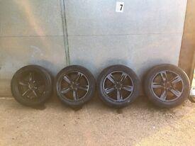"""16"""" BMW alloy wheels"""