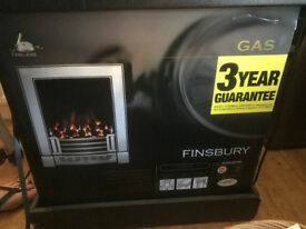 Finsbury Polished Cast Iron Gas Fire (Boxed and unopened)