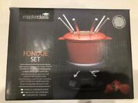 Masterclass Fondue set - Brand new