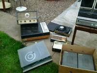 Vintage record player hifi job lot untested loft find