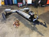 Car towing dolly car trailer