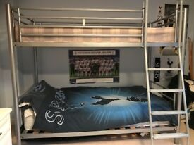 'Jaybee' Kids Metal Frame Bunk Bed - Excellent Condition - Only £175