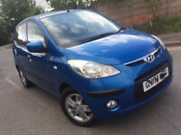AUTOMATIC HYUNDAI I10 5 DOOR. 1 LITER CAR. ONLY 66 K MILES. LONG MOT . SUPERB DRIVE. BARGAIN