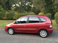 RENAULT MEGANE SCENIC 1.4 2002 MOT SEPTWMBER 2017-CHEAP TO TAX AND INSURE-WE CAN DELIVER TO YOU