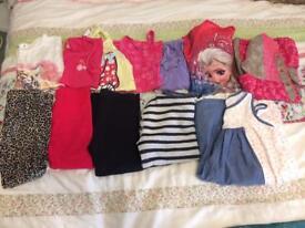 Girls clothes bundle 4-5Y
