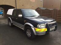 4x4 ford ranger xlt 2.5 turbo diesel double cab pick up 04reg