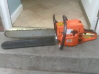 PETROL CHAINSAW £40 NEEDS REPAIR