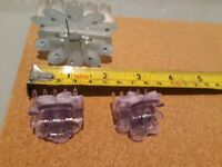 Butterfly Clips x3