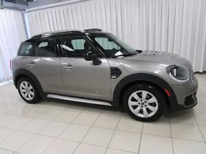 2018 MINI Cooper Countryman ALL4 AWD TURBO w/ HEATED SEATS, DUAL