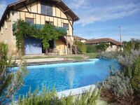 Successful Gîte Business/Large Home - Farmhouse (4 bd) & Barn (3 bd) - Swimpool, Garden & Views