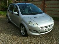 Smart Forfour 1.5cdi diesel, low mileage, FSH, very economical. One of the last made.