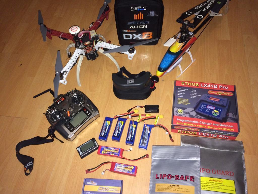 Quadcopter/ drone plus FPV full kit | in Sittingbourne, Kent | Gumtree