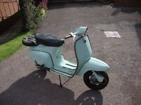 Lambretta J 125 Starstream, 1965, taxed as an Historic Vehicle