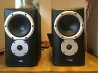 Mission Pro SM6A Active Nearfield Monitor Speakers (one working, one faulty)