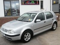 LOOK!! 2004 VOLKSWAGON GOLF ONE OWNER FULL MOT LOW MILES MINT CONDITION