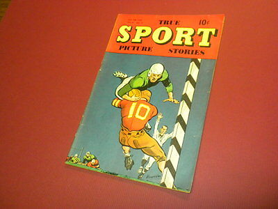 TRUE SPORT PICTURE STORIES Volume 4 #11 Street & Smith 1949