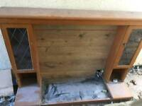 Complete one piece fire surround