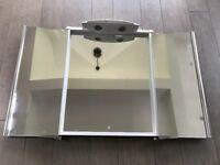 Showerlux Mirrabel 3-way bathroom mirror with integral light plus installation instructions.