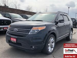 2015 Ford Explorer LIMITED**LEATHER**SUNROOF**NAV**BLUETOOTH**