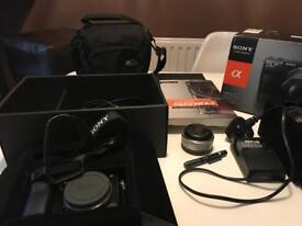 Sony Nex 7 camera and accessories as new