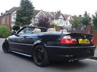 /// BMW 330CI M SPORT BODY UPGRADES CONVERTIBLE/CABRIOLET /// AUTOMATIC /// SAT NAV LEATHERS /