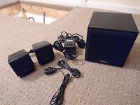 Creative Soundworks SW320 Subwoofer & Mini Speakers