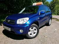 Toyota Rav4 xt3, 2005, 78k miles, Full leather, Zero deposit finance, January 2018 MOT.
