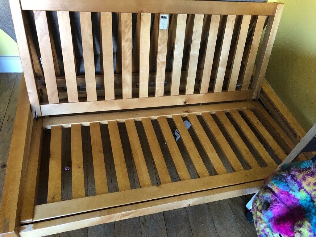 Futon Company 2 Seater Solod Birch Double Sofa Bed In York North