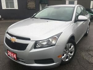 2014 Chevrolet Cruze LT-FACTORY WARRANTY-LOADED-55MPG