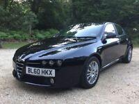 Alfa Romeo 159 2.0 JTDM 16v Turismo 4dr (black) 2011