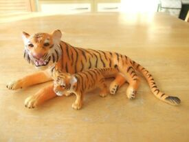 ELC / AAA wild animals - Tigers x 3 made from solid plastic