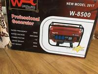 Wurzburg W8500 professional generator NEW