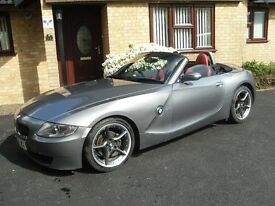 2008 METALLIC STERLING SILVER GREY BMW Z4 2.0i EDITION SPORT ROADSTER - low mileage