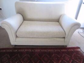 1920's drop arm sofa