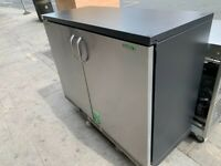 CATERING COMMERCIAL COUNTER FRIDGE 2 DOORS KITCHEN CAFE SHOP TAKE AWAY