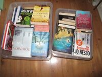 2 large boxes of assorted novels - many award winners and best sellers