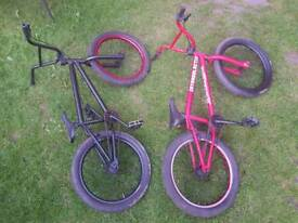 Two BMX's