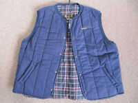 Barbour D345 Trekker Waistcoat/Gilet - New + Unused - XXLarge - Gilet Blue.