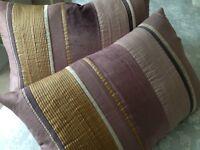 Laura Ashley cushions.