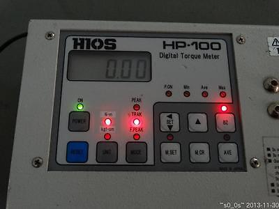 Battery Faulty Need Exchange Used Working Hios Hp-100 Digital Torque Tester